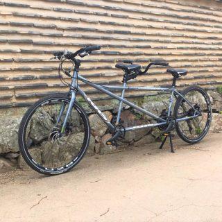 2人乗りタンデム自転車